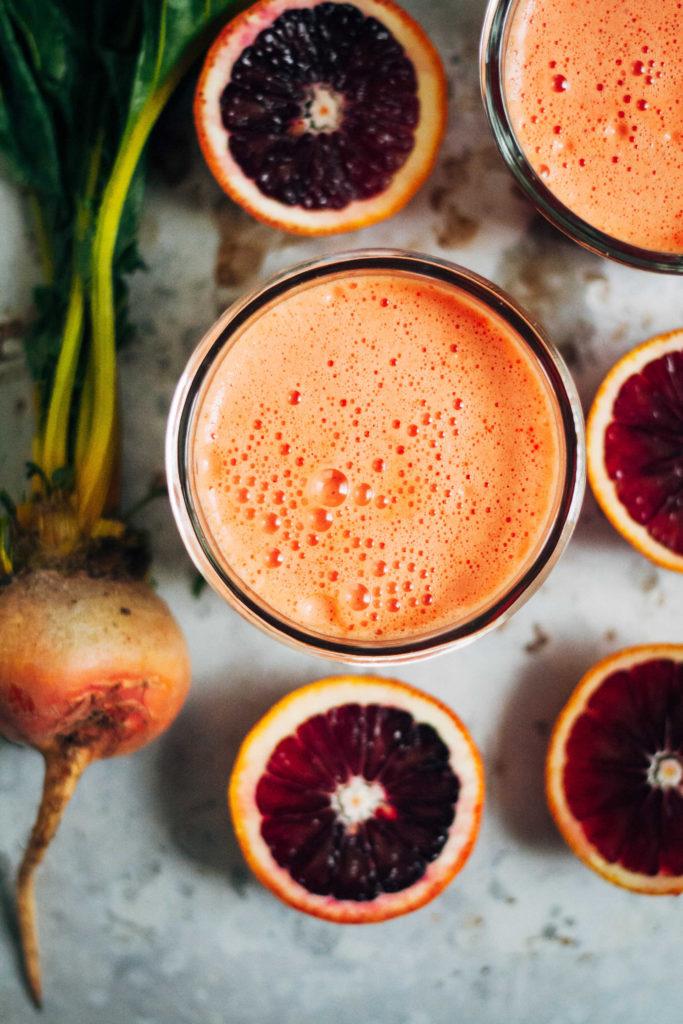 Sunshine Citrus Beet Juice Recipe