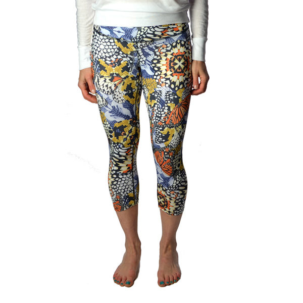 Monarch crop yoga bottoms