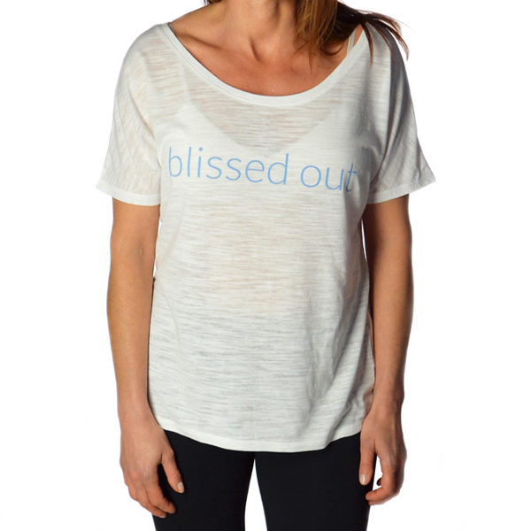 Bliss Short Sleeve Yoga Tshirt